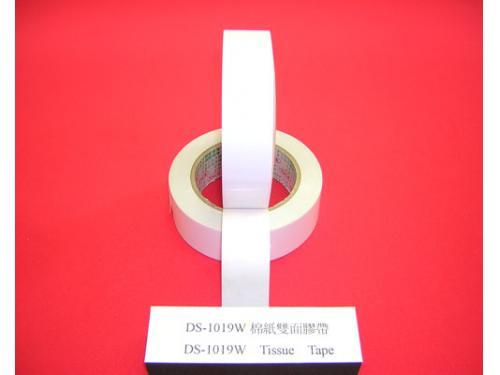 棉紙雙面膠帶<br>『DS-1019w』